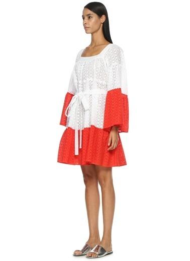 Lisa Marie Fernandez Elbise Kırmızı
